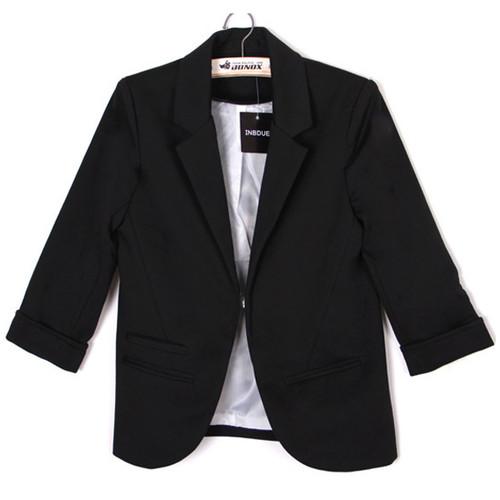 Celebrity Womens Candy Colors Seventh Volume Sleeve Suit Jacket Blazer 5 Colors | Amazing Shoes UK