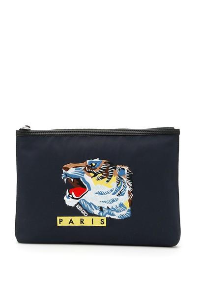 Kenzo tiger pouch bag
