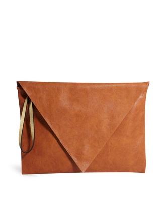 bag pull&bear envelope clutch bag in tan asos pull & bear clutch tan