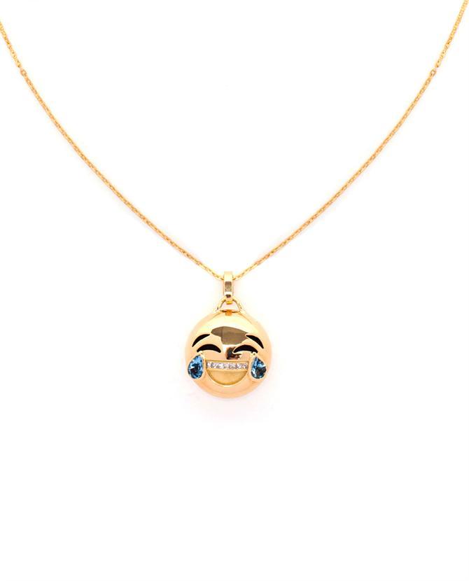 Yellow Gold Emoji Necklace