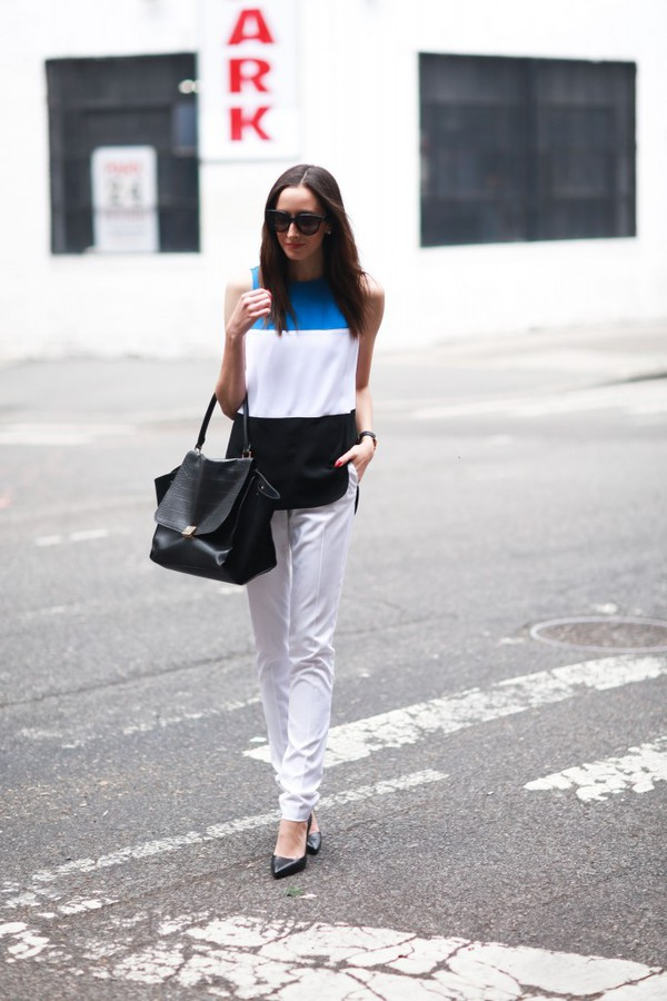 the glam files blogger top pants jewels shoes bag
