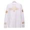 Hood by air foil printing long sleeve tee white [hood by air long sleeve] - $32.00 : affliction clothing sale online,wholesale affliction clothing online, affliction clothing