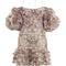 Painted heart folds dress | moda operandi