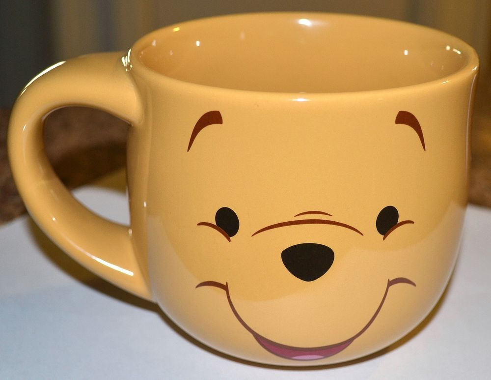 DISNEY'S STORE Large Heavy WINNIE THE POOH MUG, CUP, UNUSED MINTY CONDITION | eBay