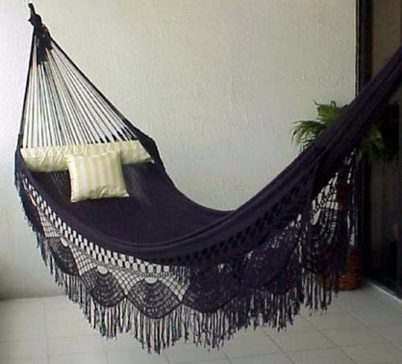 fringe bag hammock