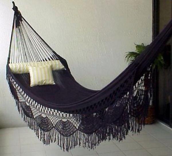 bag fringes hammock