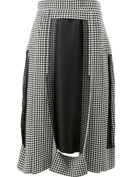 MAISON MARGIELA skirt women black wool