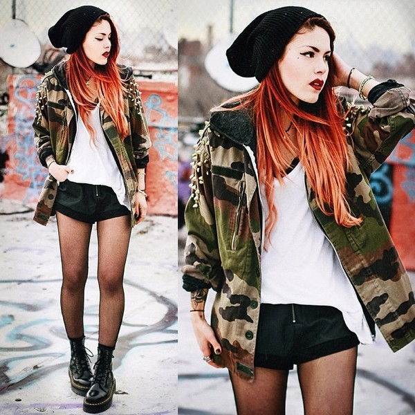 jacket urban outfitters streetwear soldier style