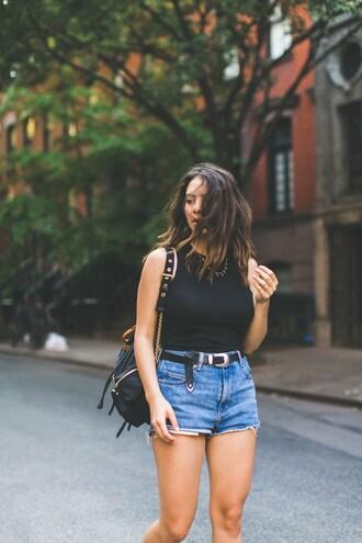 five five fabulous blogger jacket shorts belt shoes