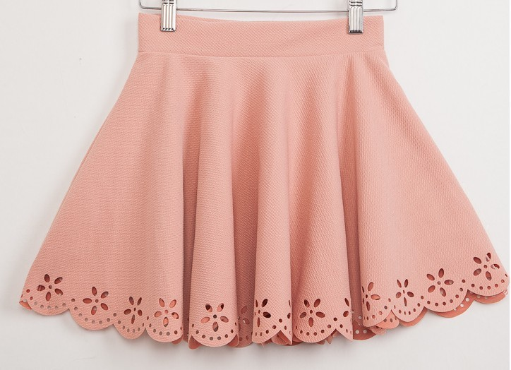Floral Eyelet Skirt from shopwildcouture on Storenvy