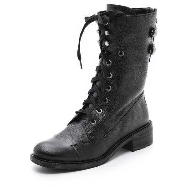 Sam Edelman Darwin Combat Boots - Polyvore