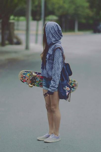 sweater tumblr skater