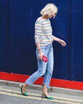 top,jeans,blue jeans