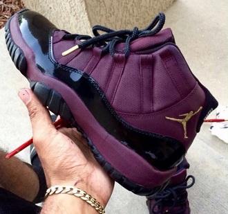 shoes trainers jordans purple