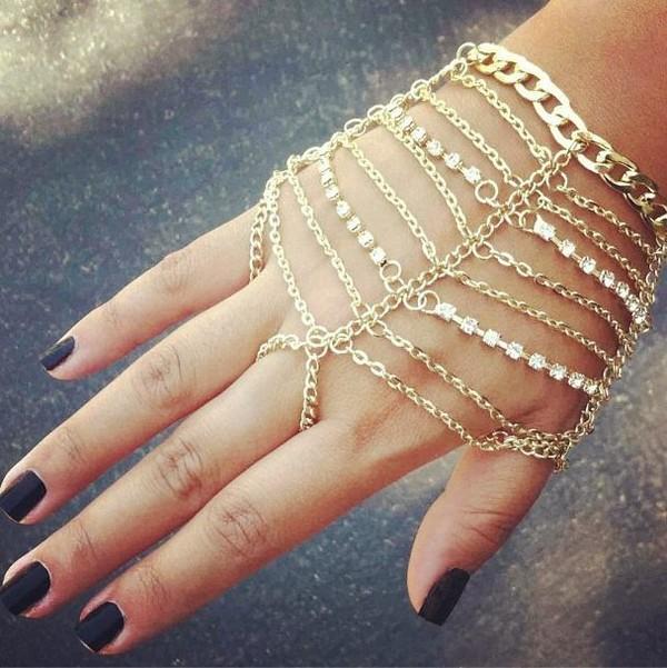 jewels bracelets hand jewelry silver bracelet diamontes