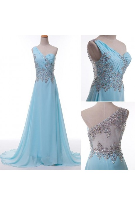 2014 Long Chiffon Evening Formal  Party Dresses NPD1043 Sale at Shopindress.com
