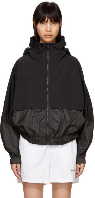 jacket windbreaker black