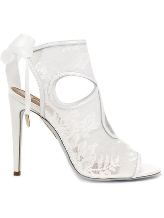 sexy women sandals leather white silk satin shoes