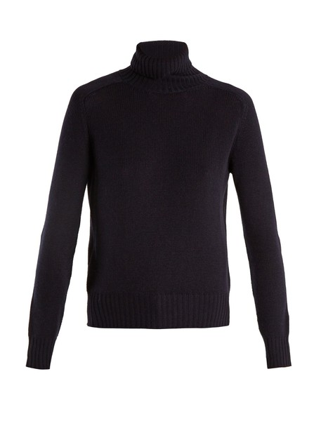Prada sweater knit navy