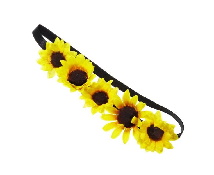 Cute Sunflower Headband - Hair - Shop