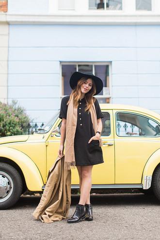 wish wish wish blogger shirt dress dress coat shoes hat scarf