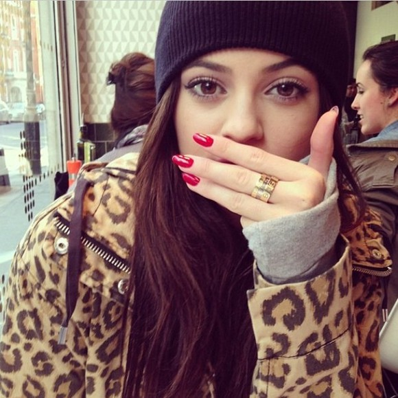 leopard print animal print cheetah print coat kylie jenner zip instagram tumblr msfit