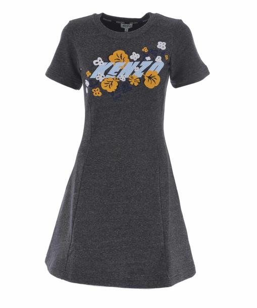 Kenzo dress shirt dress t-shirt dress