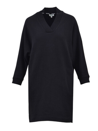 dress sweatshirt dress black