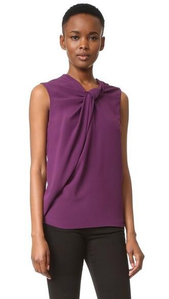 top sleeveless top sleeveless violet