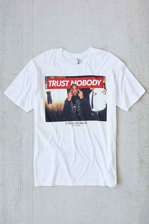Tupac Trust Nobody Tee - Urban Outfitters