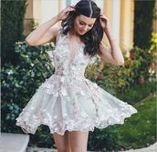 dress,homecoming dress,floral dress,deep v-neck dress,short gown,2017 new arrival,short homecoming dress,pinterest
