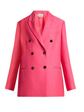 blazer,silk,pink,jacket
