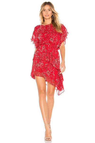 IRO Blame Dress in red