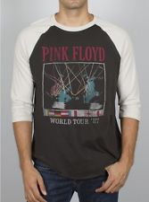 Pink floyd world tour '87 by junk food raglan t
