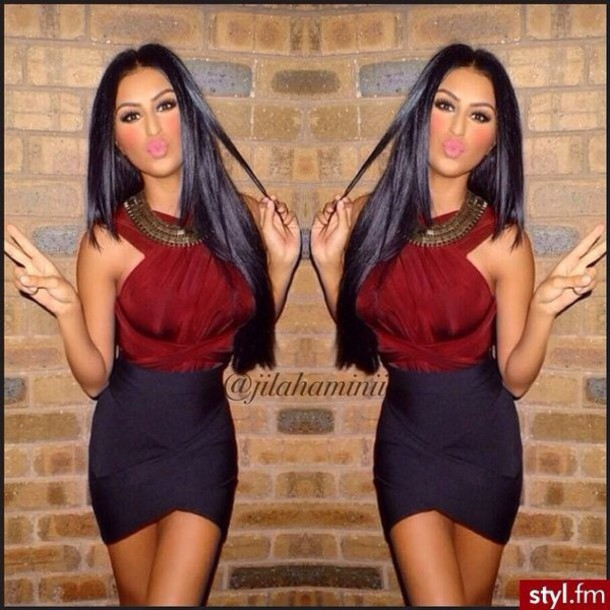 skirt bandage dress black skirt