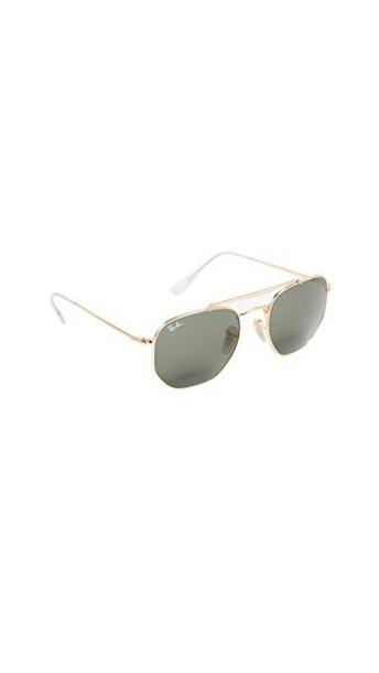 Ray-Ban sunglasses aviator sunglasses gold green