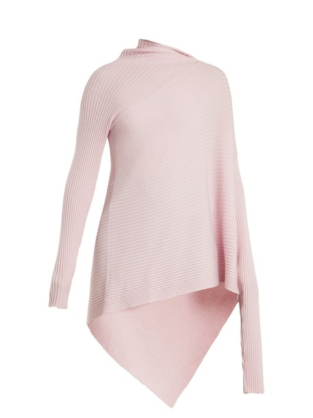 MARQUES ALMEIDA sweater wool sweater wool knit light pink light pink