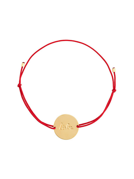Malaika Raiss women gold red jewels