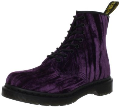 Dr Martens Women's Velvet Castel Purple Lace Ups Boots 14723510 3 UK: Amazon.co.uk: Shoes & Bags