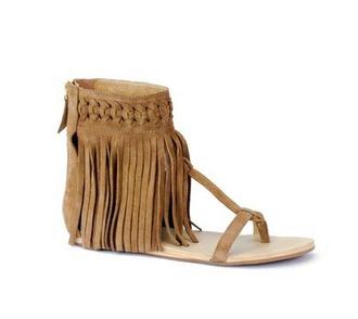 fringes sandals fringe shoes festival