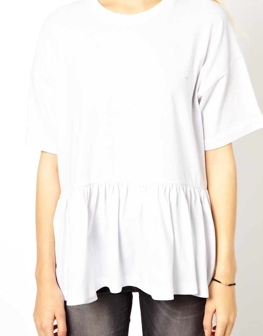 ASOS Oversized Smock T-Shirt at asos.com