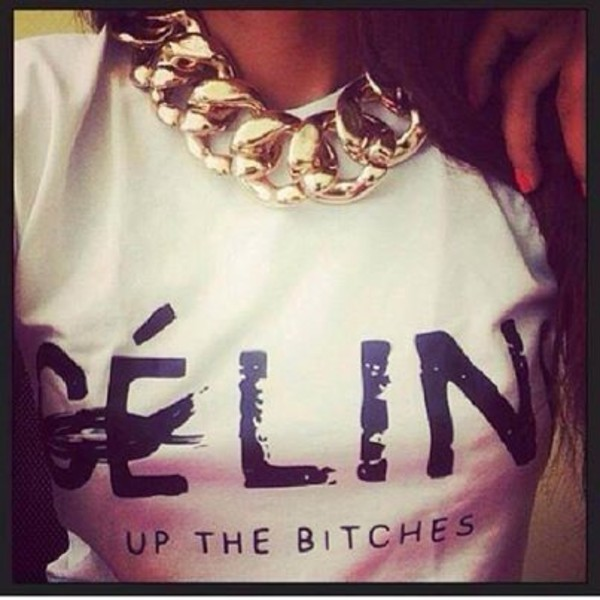 t-shirt celine paris shirt