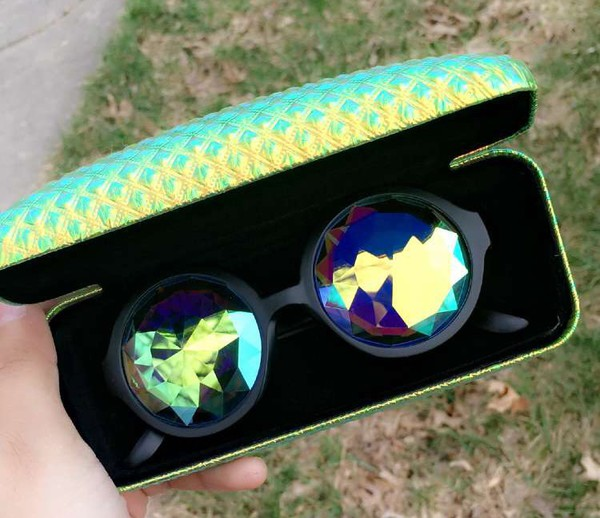 Kaleidoscope Glasses / Kaleidoscope Sunglasses / Prism ...