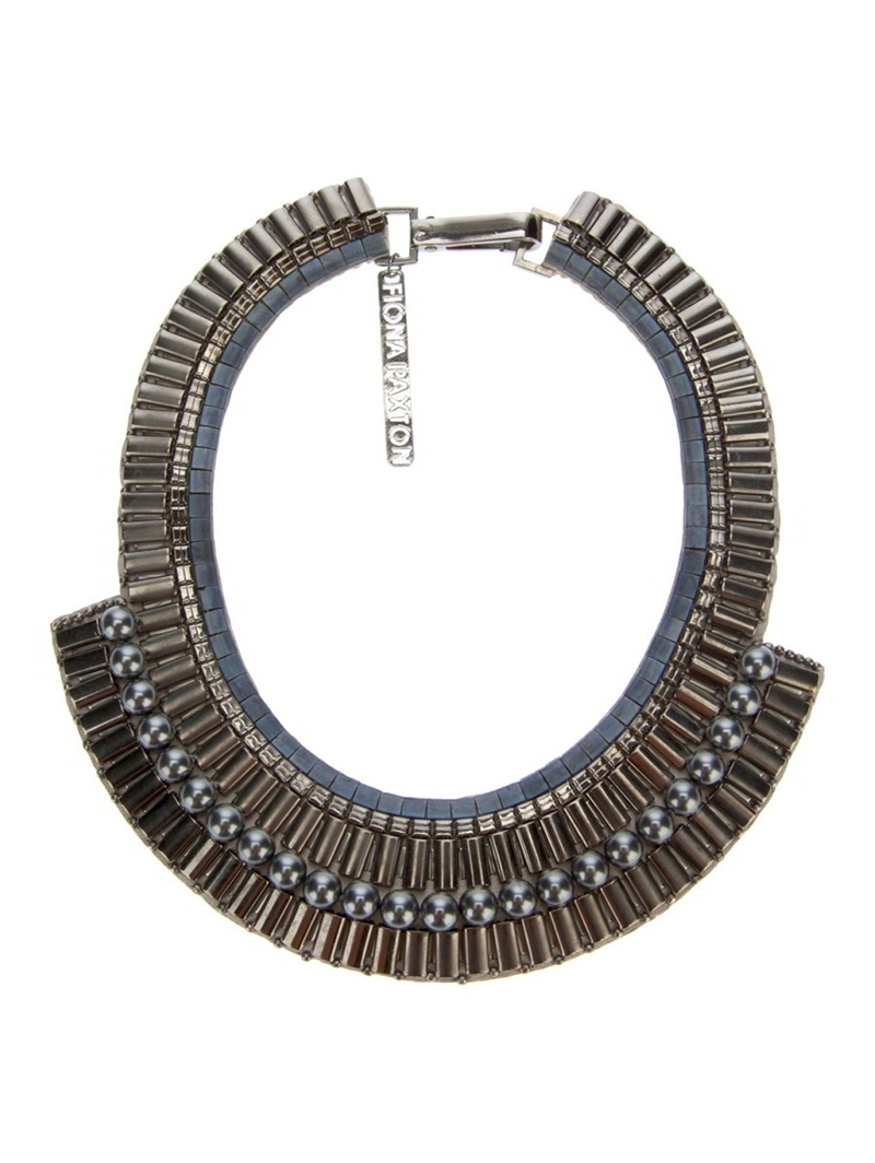 Sylvia Bib Necklace