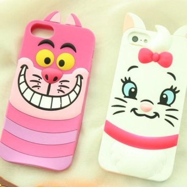 jewels iphone4/4s/5/5s phone cover cute cartoon