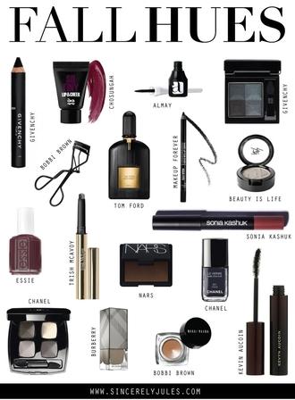 sincerely jules blogger nail polish fall colors dark nail polish