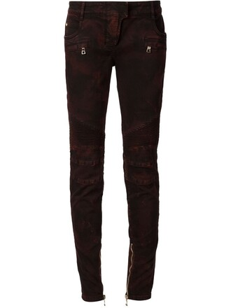jeans skinny jeans red