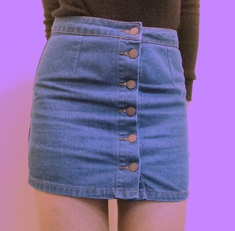 skirt jeans vintage blue high waisted skirt high waisted denim love tumblr dress cute spring summer crop tops top cool denim skirt style american apparel light jeans skirt