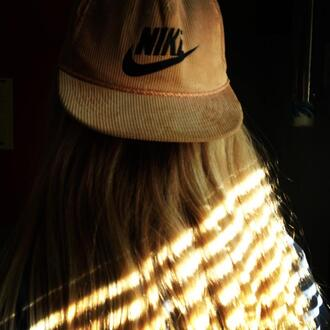 hat corduroy nike