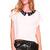 Shoptiques — Spotted Collar Blouse